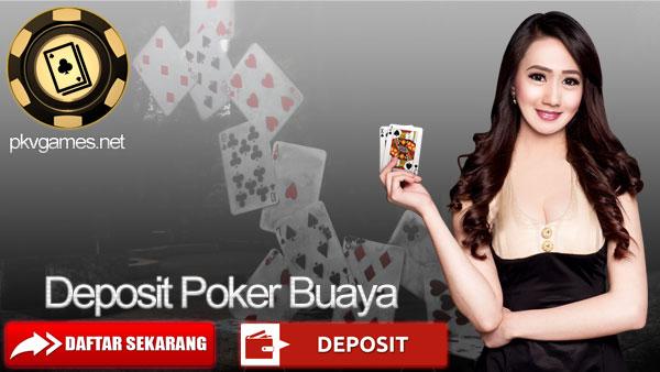 Deposit Poker Buaya