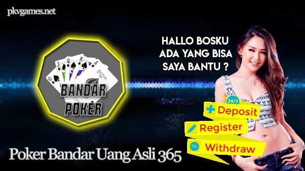 Poker Bandar Uang Asli 365